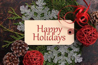 Holiday Closures